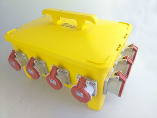 China Heavy Duty Temporary Power Distribution Box , IEC60529 Spider Power Box supplier