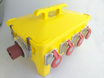 China 125A 36 Ways Mobile Power Distribution Box Linear Low Density Polyethylene Shell supplier
