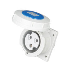China IP67 Waterproof 3 Phase Plug Socket 50 - 60 Hz Frequency 230V Rated Voltage supplier