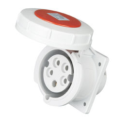 China Watertight Industrial Plug Sockets Wall Mounted Type International Standard supplier