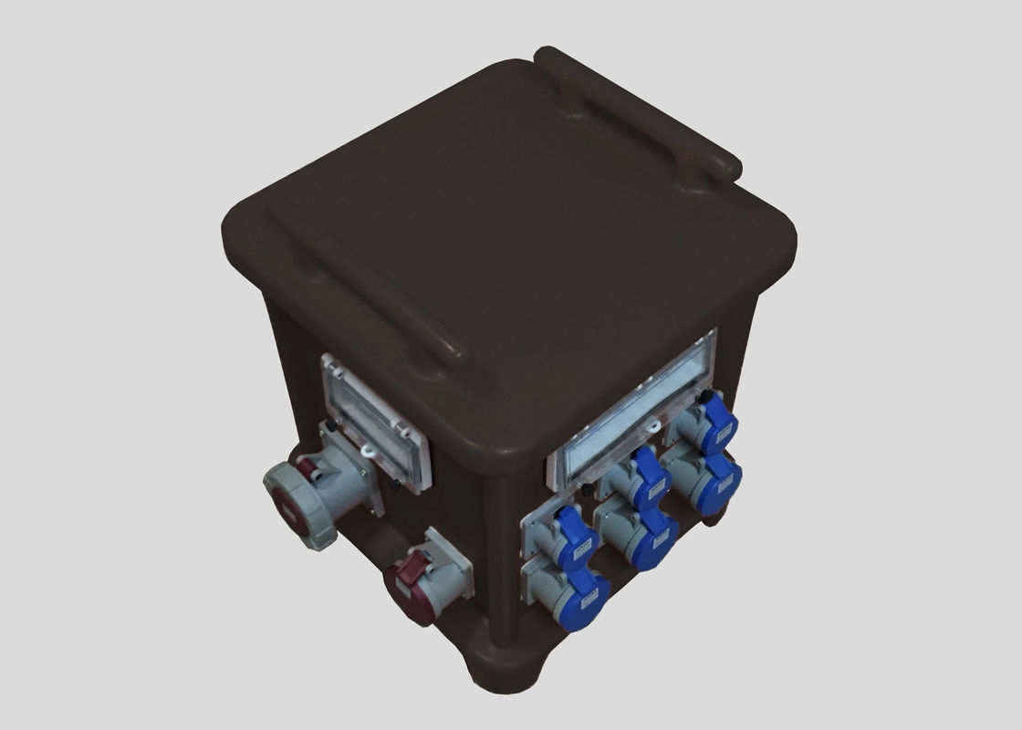 Pagoda Electrical Distribution Box With Customized Industrial Inlet ...