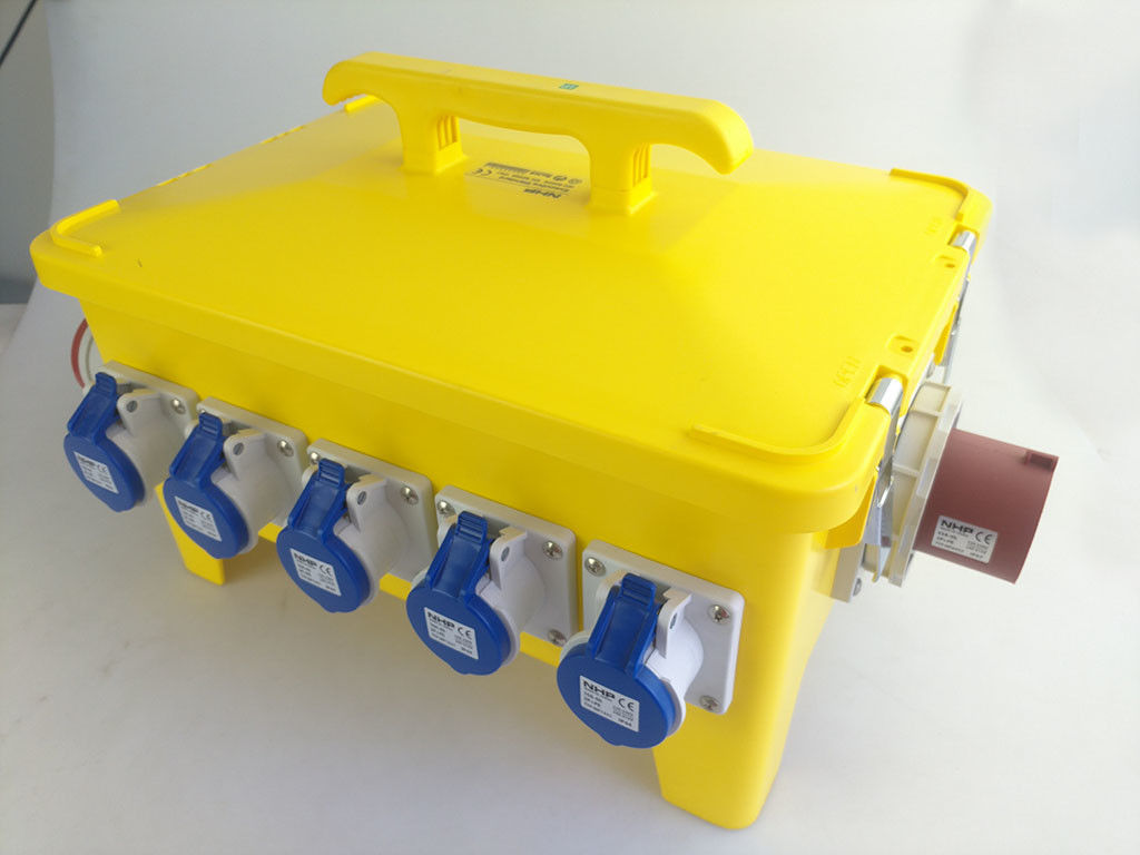 Ip68 Waterproof Portable Power Outlet Box Movable Construction