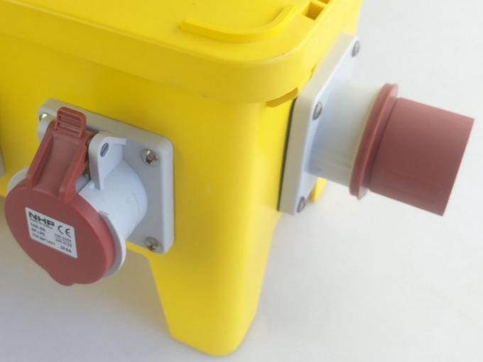 SAA 12 Way Temporary Power Distribution Box Strong Plastic PE Housing
