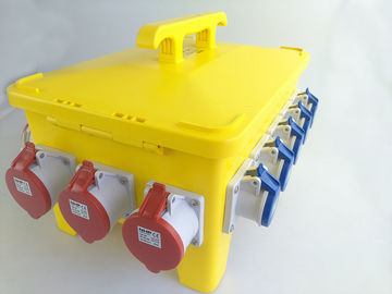 36 Ways Mobile Power Distribution Box With Industrial Plugs Sockets