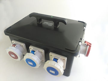 IP66 Water Tight Mobile Power Distribution Box Heavy Duty Rubber Housing